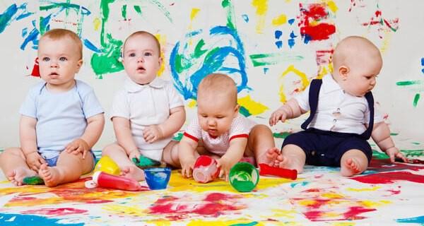 Vielfach wird eine Eltern-Kind-Gruppe von Eltern mit Kleinkind genutzt