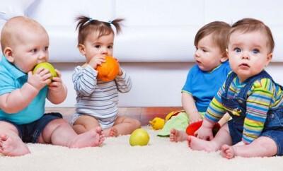 In Eltern-Kind-Zentren treffen sich viele junge Eltern zum Erfahrungsaustausch