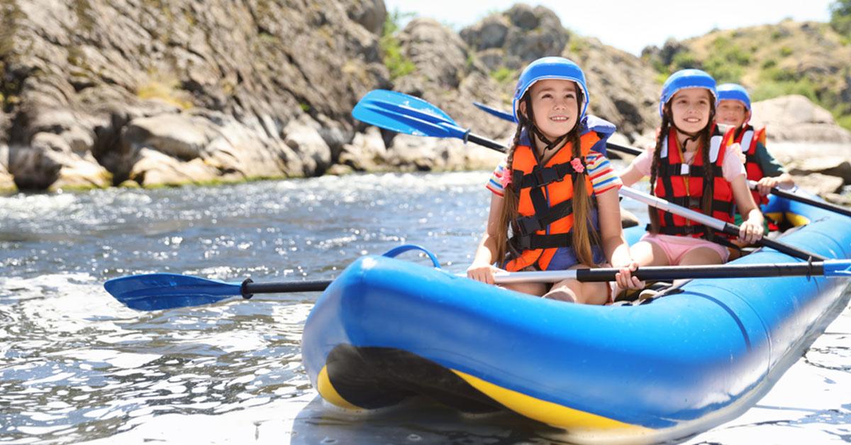 Erlebnisurlaub mit Kindern