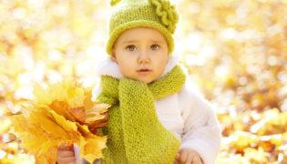 Herbst-Styles für Babys
