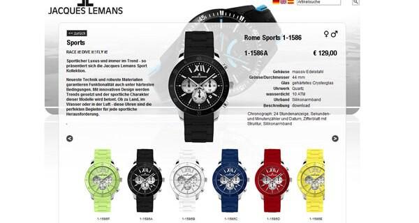 Jacques Lemans Uhren sind auch bei Eltern die ein Kind erwarten beliebt