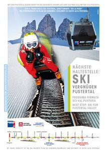 Der neue Skizug Kronplatz im Pustertal begeistert alle Skifahrer