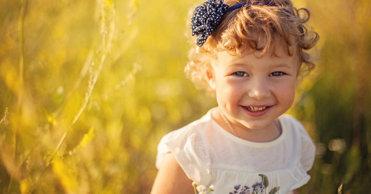 Zweijähriges Kind
