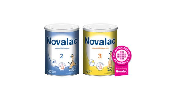Immer mehr Eltern setzen für ihr Kind auf Milchnahrungen von Novalac