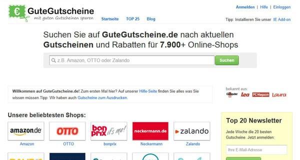 Die Onlineplattform GuteGutscheine.de hilft Eltern mit Kind beim Sparen