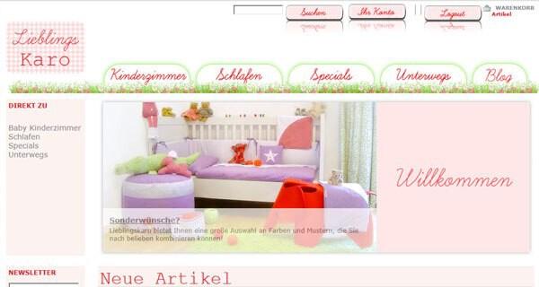 Eltern finden coole Babyartikel für ihr Kind auf der Seite: Lieblingskaro.de