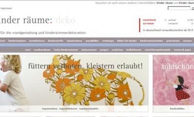 Eltern die auf der Suche nach Kinderzimmer-Deko sind werden auf der Seite kinderraeume-deko.de sicher fündig