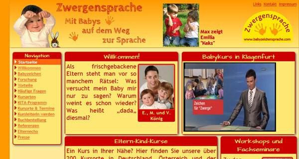 Durch die Zwergensprache können Eltern schon ganz früh mit Baby und Kleinkind kommunizieren und sprechen