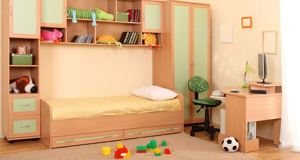 Naturmöbel für das Kinderzimmer