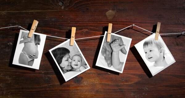 Ideen für Baby Fotobücher sind für viele Eltern interessant