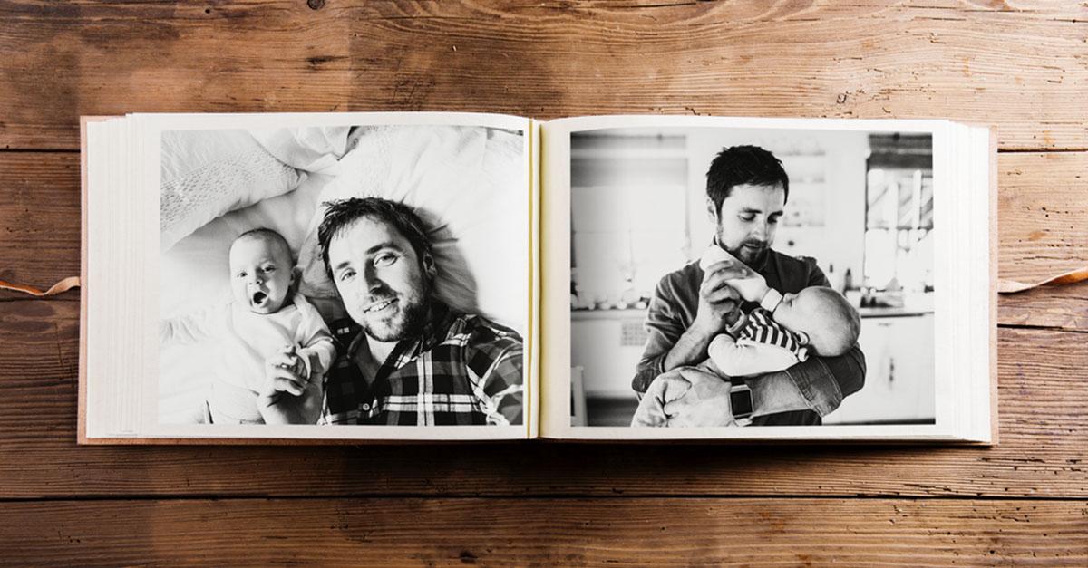 Ideen für Baby Fotobücher
