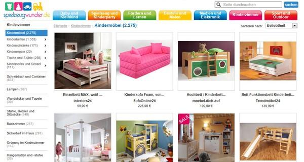 Kinder Möbel online kaufen wird immer populärer