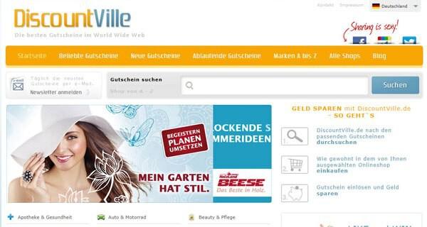 DiscountVille ist ein interessantes Gutschein-Portal für Eltern mit Kind