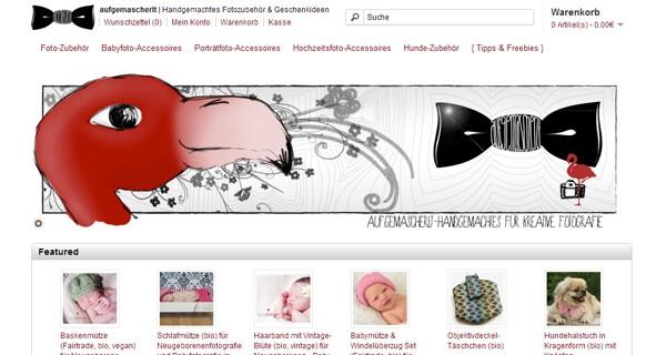 Die Seite Aufgemascherlt.com bietet handgemachte Geschenkideen