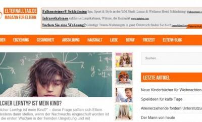Elternalltag.de – Tipps für den Alltag mit Kind