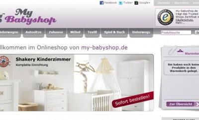 My Babyshop - einkaufen für Baby und Kind