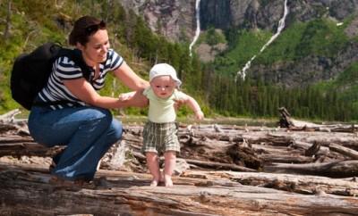 Wandern mit Baby im Salzburger Land