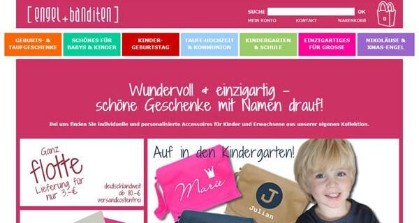 Engel + Banditen - personalisierte Geschenke