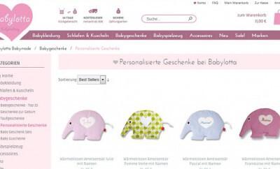 Personalisierte Babygeschenke liegen im Trend