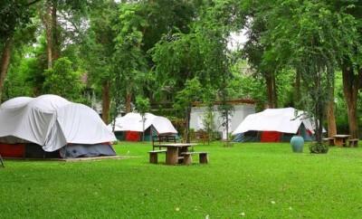 Urlaub mit Kleinkind auf einem Campingplatz