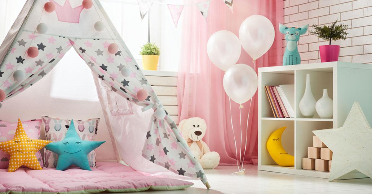 Deko-Ideen für das Kinderzimmer