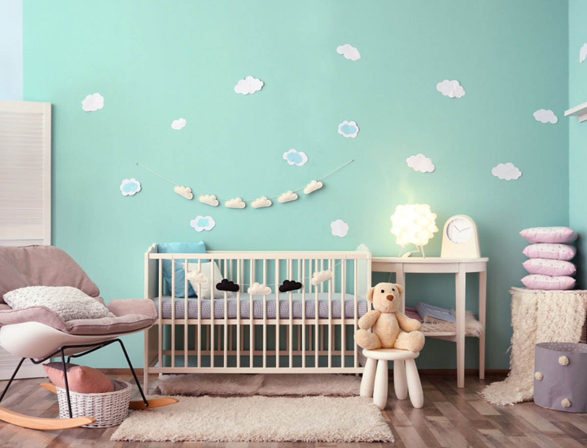gestaltungstipps und ideen f r das babyzimmer. Black Bedroom Furniture Sets. Home Design Ideas
