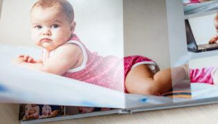 Babyfotobuch: Erinnerungen fürs Leben
