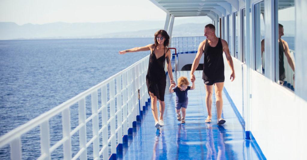 Kreuzfahrt mit Kind