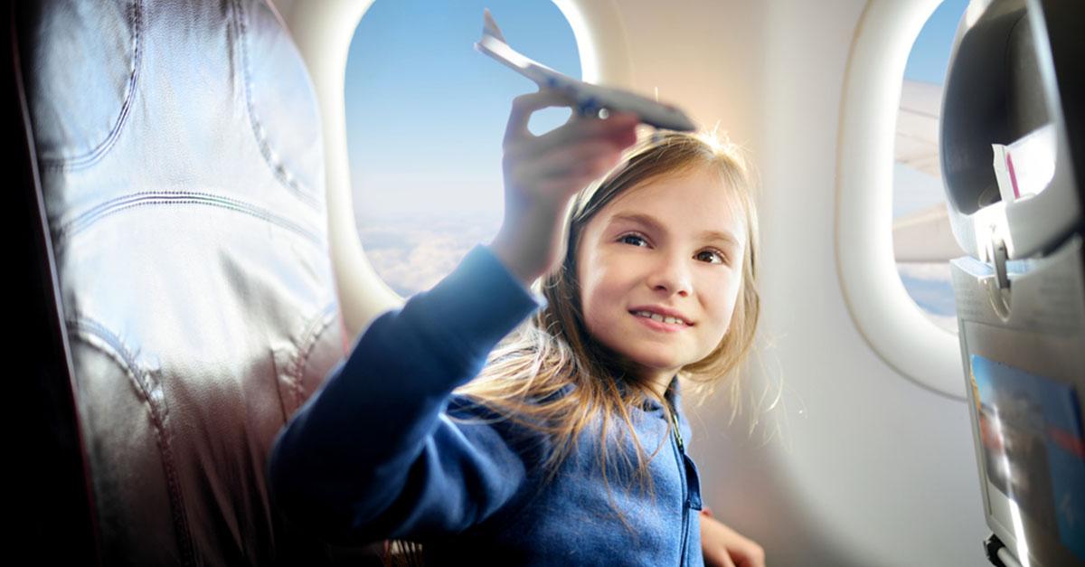 Wichtige Tipps für Flugreisen mit Kindern