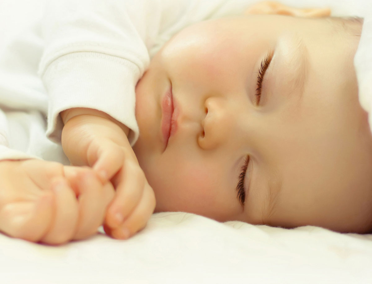Baby einschlafen beibringen