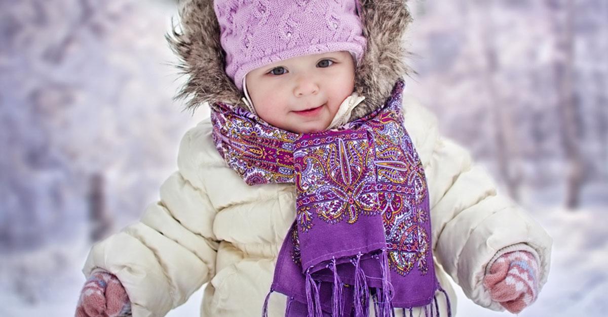 Erfrierungen und Unterkühlung beim Baby