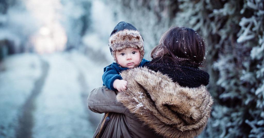 Erfrierungen und Unterkühling beim Kind