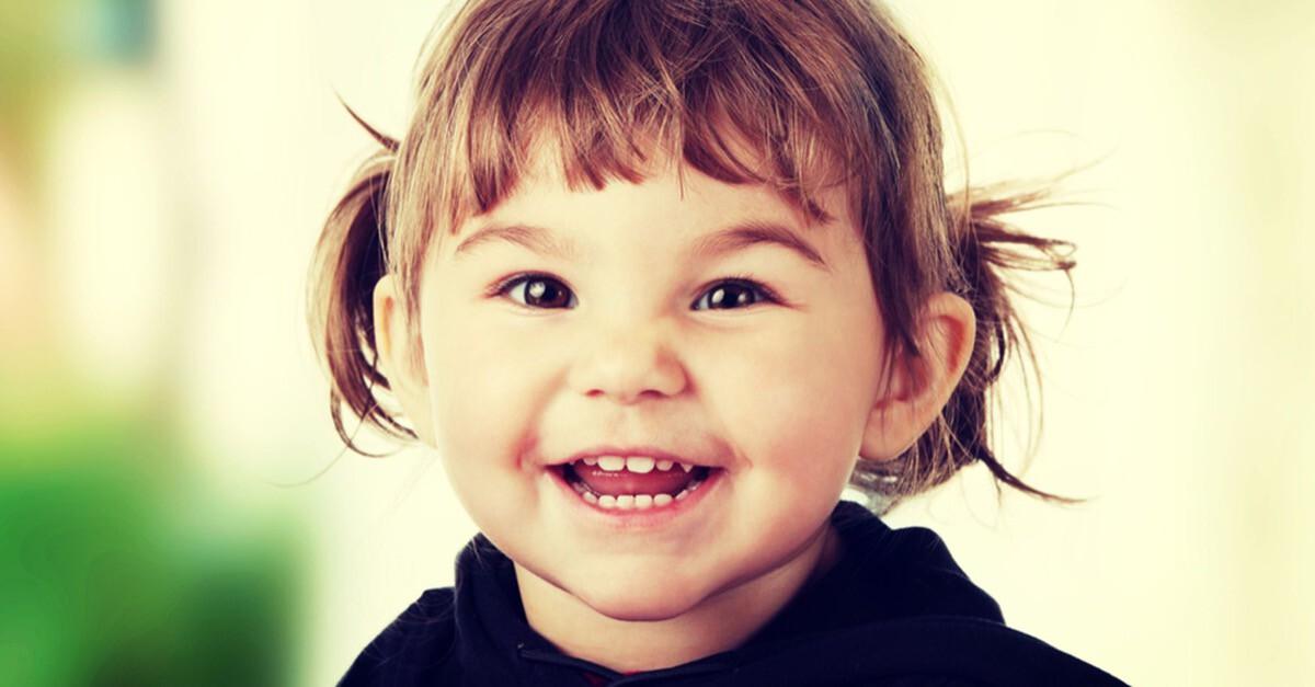Zwei Jahre altes Kind