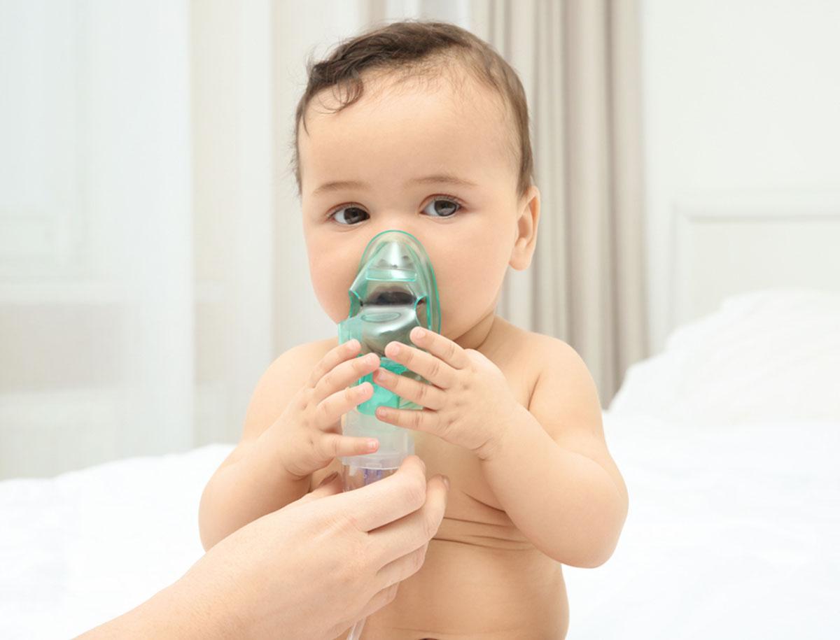 Asthma bei Säugling und Baby
