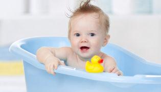 Baby baden leicht gemacht