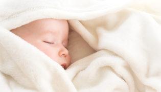 Babydecke aus Baumwolle