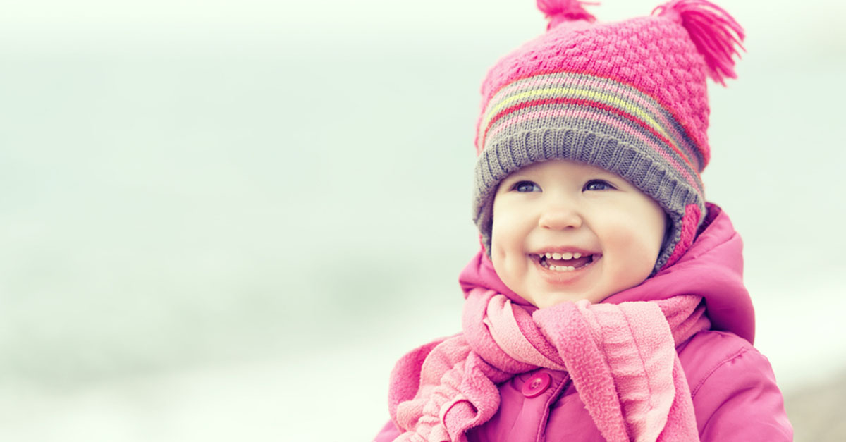 Babys im Winter
