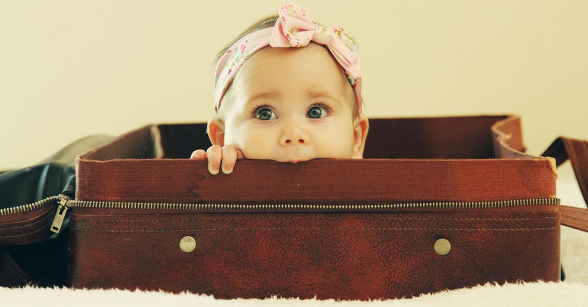 Checkliste Verreisen mit Baby und Kleinkind