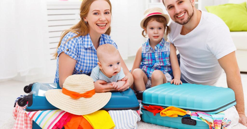 Verreisen mit Baby und Kleinkind