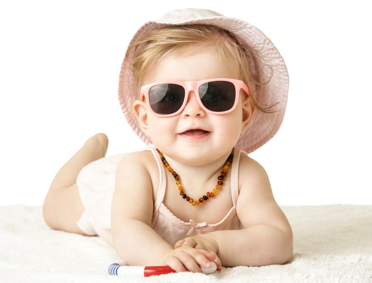 Eine Sonnenbrille für mein Baby?