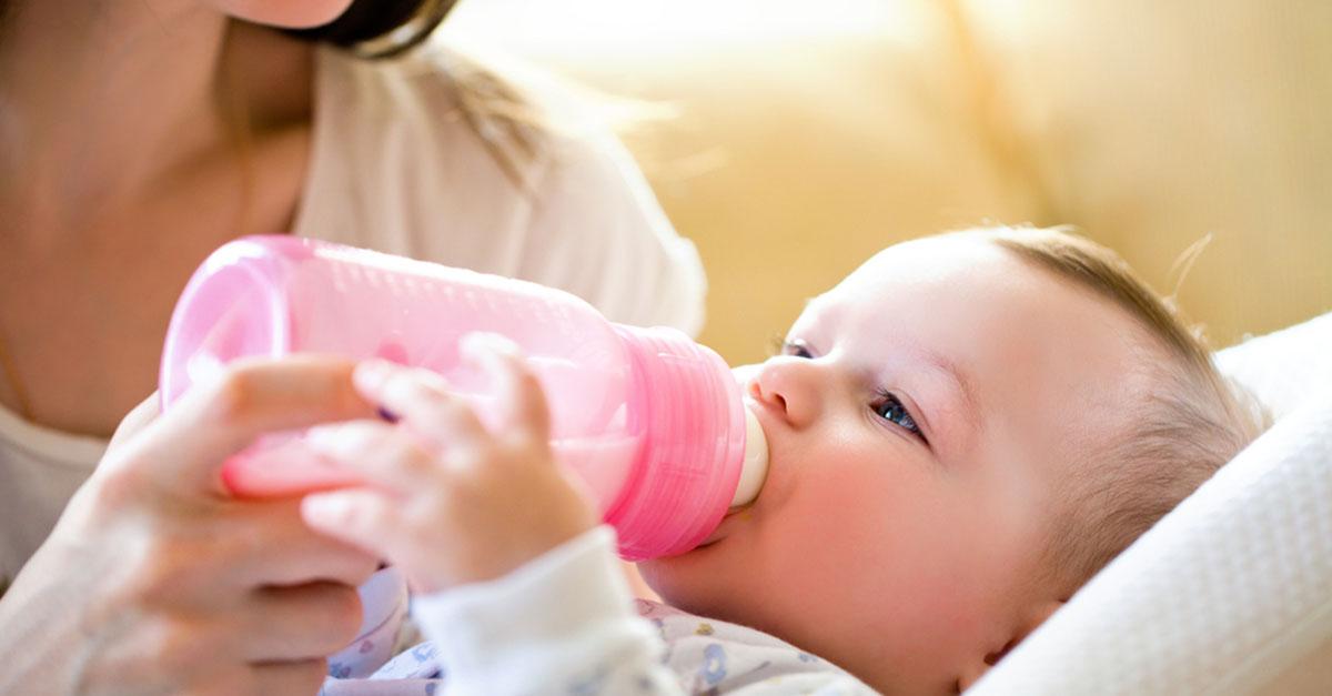 Ersatznahrung statt Muttermilch