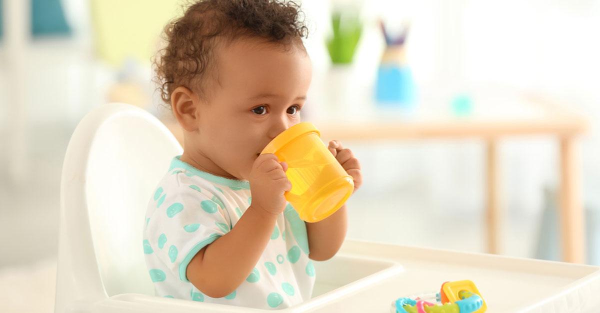 Getränke und Babys