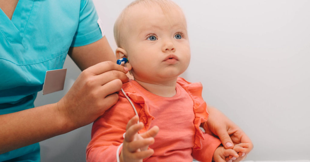 Hörscreening beim Baby