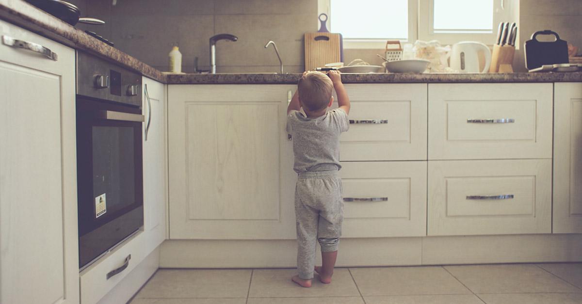 kindersicher küche