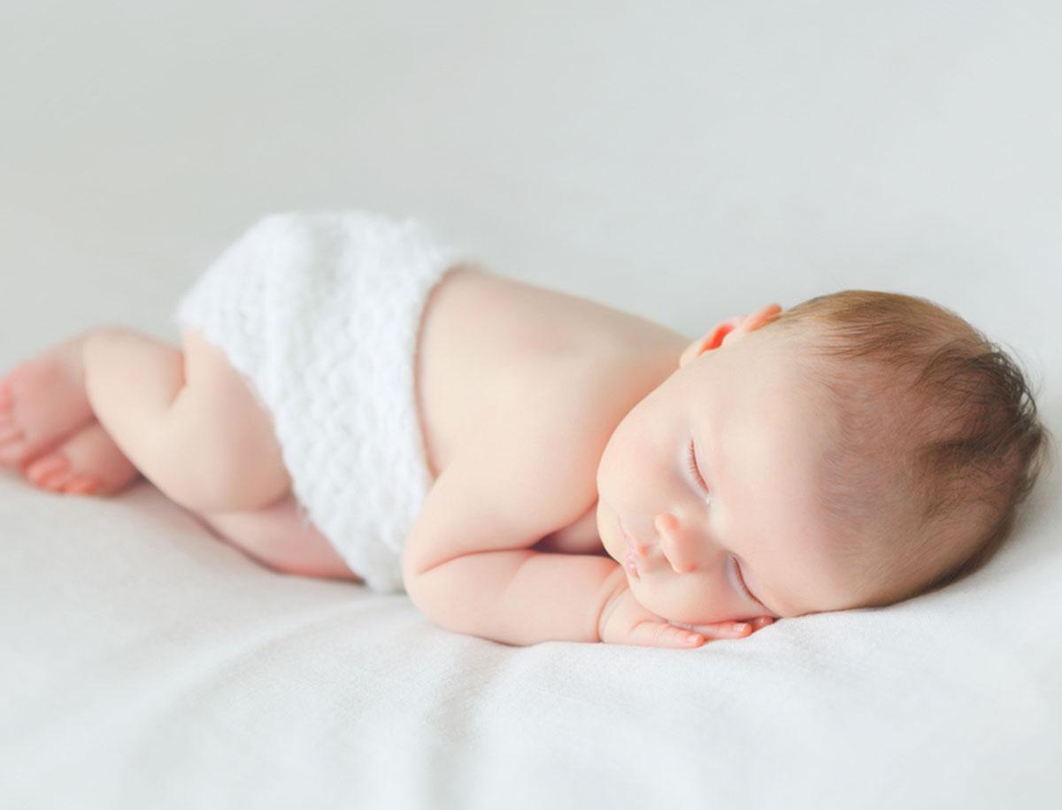 Leistenbruch beim Baby (Hernia inguinalis)