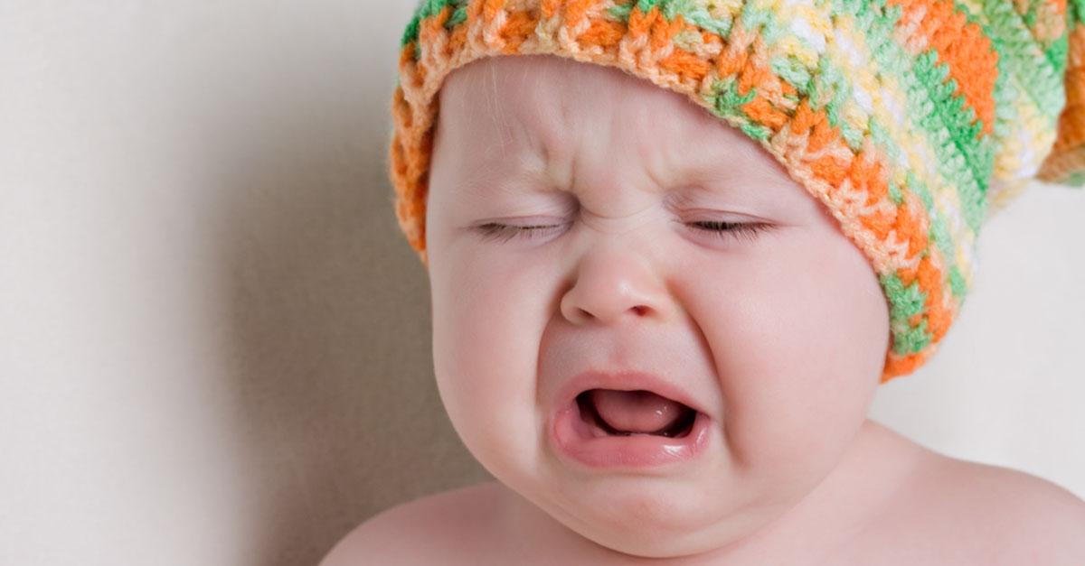 Mittelohrentzündung beim Baby und Kleinkind