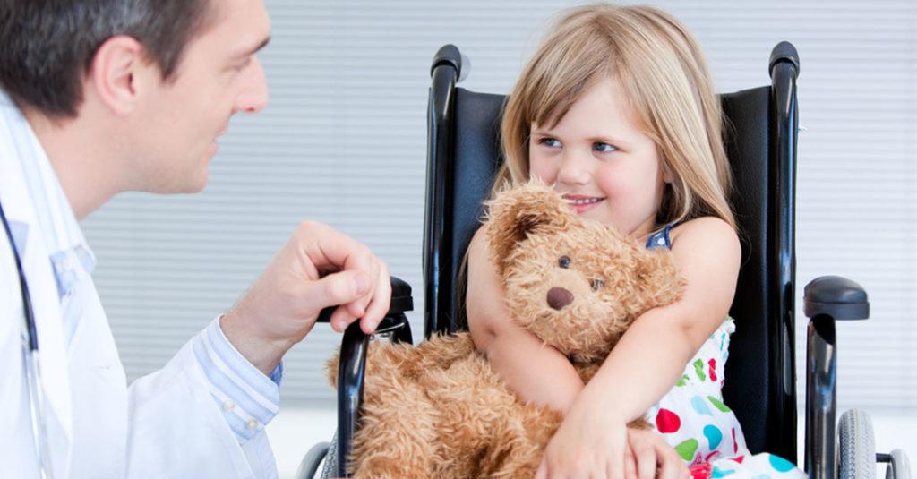 Pflegebedarf bei Kindern mit Beeinträchtigung