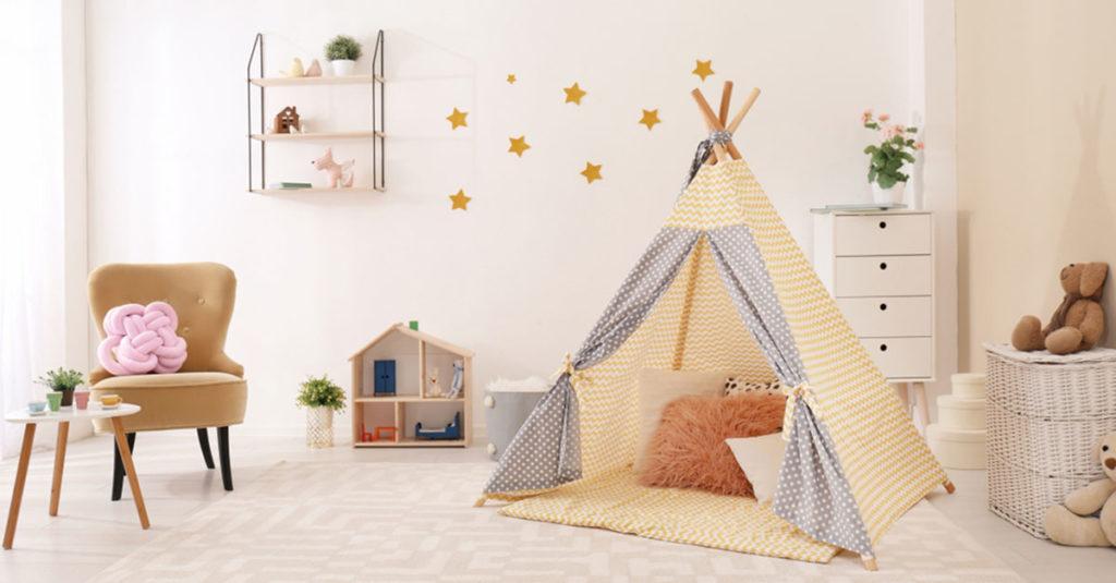 Praktische Kinderzimmer-Accessoires