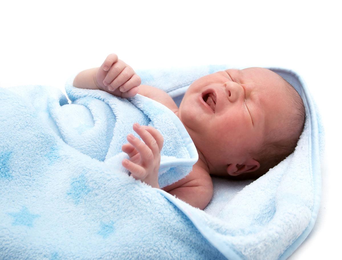 Schnupfen bei Baby und Säugling