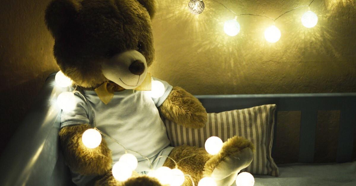 Teddy und Licht